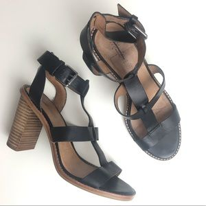 Madewell Huston Gladiator Heeled Leather Sandals